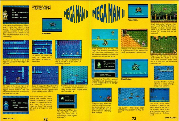 Mega Man - Nintendo Power - 2